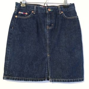 Vintage Tommy Jeans Mid Length Denim Skirt 3